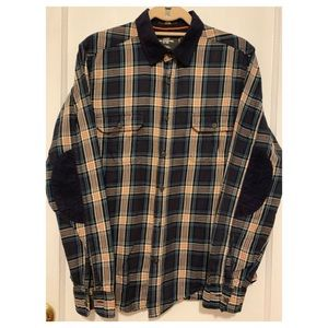 L.O.G.G. H&M Shirt w/ patched elbows in corduroy